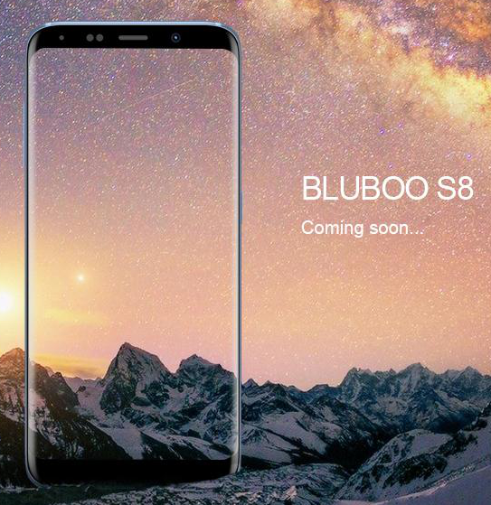 Bluboo также решила скопировать Samsung Galaxy S8