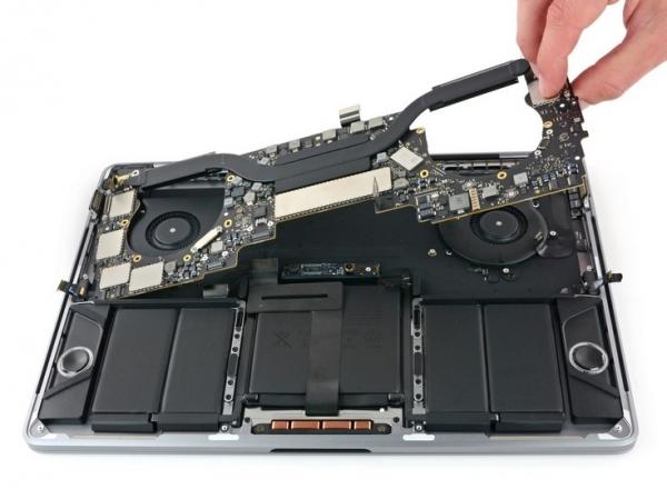 Обновлённые ноутбуки Apple MacBook Pro и MacBook, как и ранее, практически не пригодны к ремонту