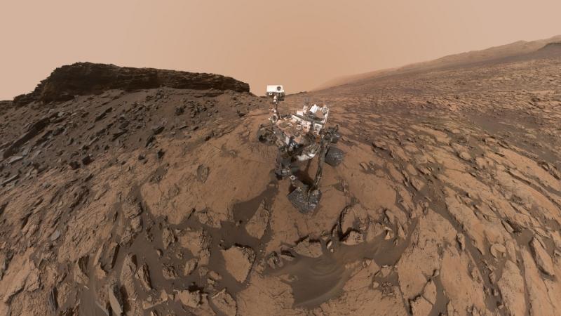 #фото | Марсоход «Кьюриосити» поделился новым селфи