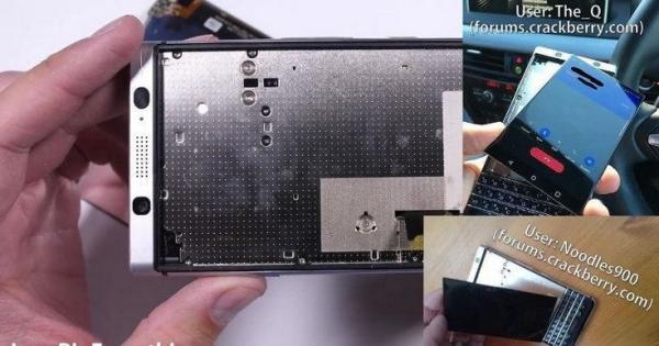 Производитель признал, что проблема с выпадающим из корпуса экраном BlackBerry KEYone существует, но постарался приуменьшить масштаб