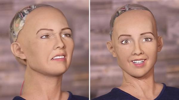 Робот София мечтает о муже