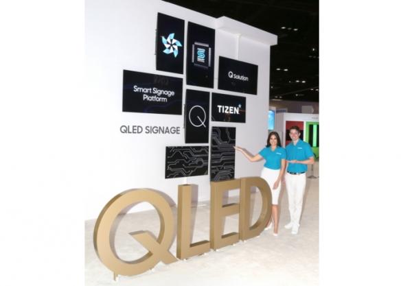 Новые цифровые вывески Samsung Smart Signage основаны на ОС Tizen 3.0, а некоторые модели используют панели QLED