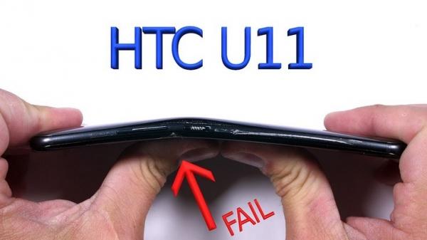 Новый флагман HTC снова нельзя назвать прочным устройством
