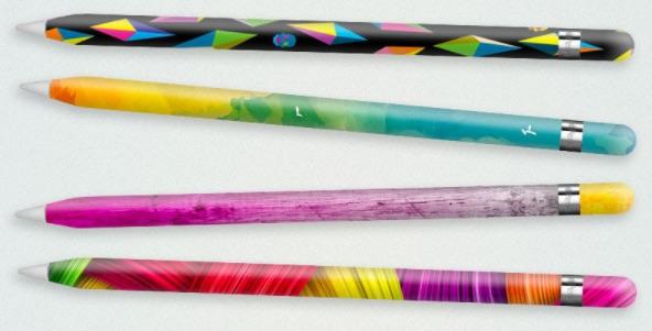 Slickwraps начала продавать наклейки для стилуса Apple Pencil