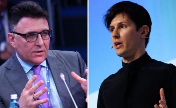 Глава Роскомнадзора намерен лично потребовать у Дурова данные о Telegram