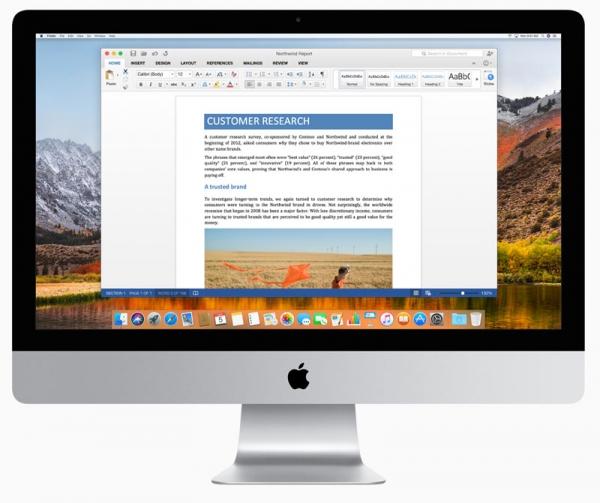 macOS High Sierra не получит поддержку Microsoft Office for Mac 2011, версии 2016 требуется обновление