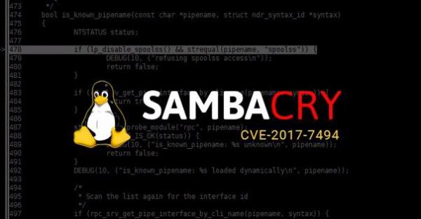 Уязвимость SambaCry  используется в атаках на сетевые хранилища