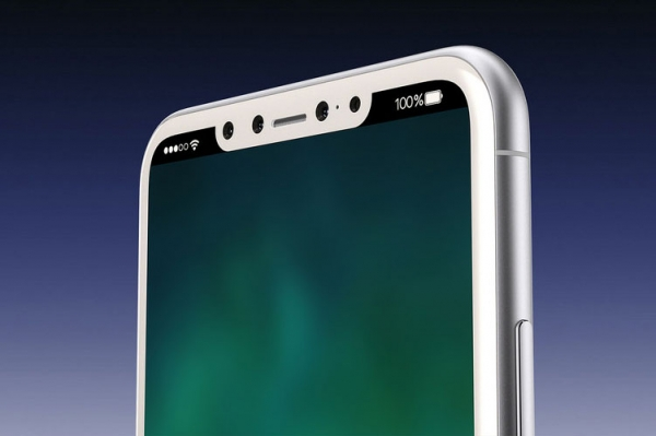 Опубликованы изображения iPhone 8 в цвете «белый оникс»