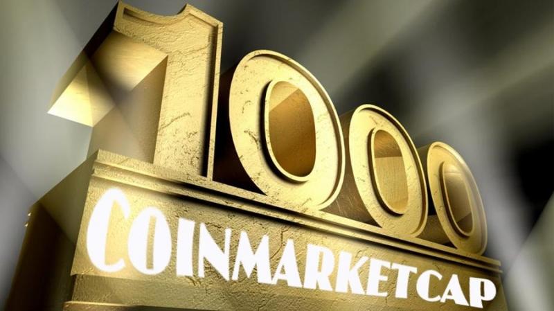 На Coinmarketcap зарегистрирована тысяча криптоактивов