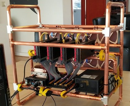 Постройка альтернативной майнинг фермы – медные трубки и огромные вентиляторы