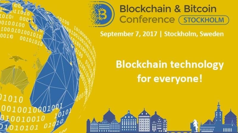 7 сентября в Стокгольме пройдёт блокчейн-конференция