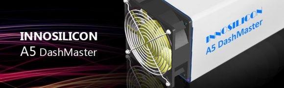 Заявленные 30.2 GHS – от Innosilicon A5 DashMaster X11 ASIC Miner