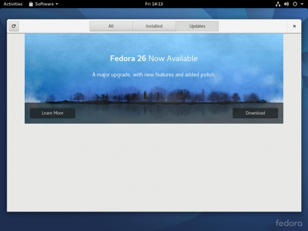 Обновление Fedora через терминал