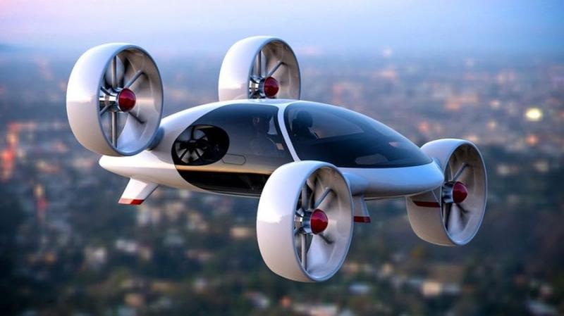 Российский стартап Bartini представил дизайн аэротакси на блокчейне