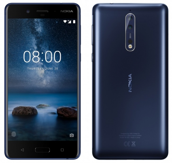 Опубликованы официальные изображения смартфона Nokia 8