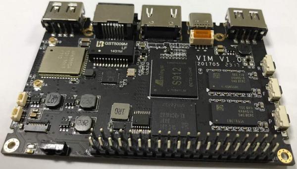 Первая плата для разработчиков с SoC AMLogic S912: Khadas VIM2