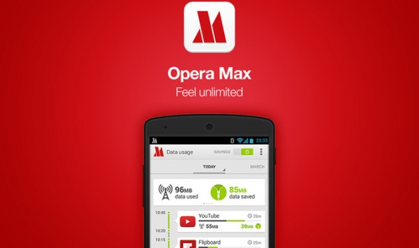 Браузер Opera Max для Android отменён и убран из магазина Google Play