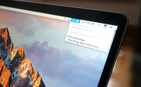 Apple убрала опцию подсчета времени работы от батареи в macOS