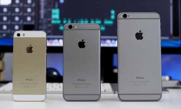 Большие iPhone почти «уничтожили» смартфоны с меньшими экранами