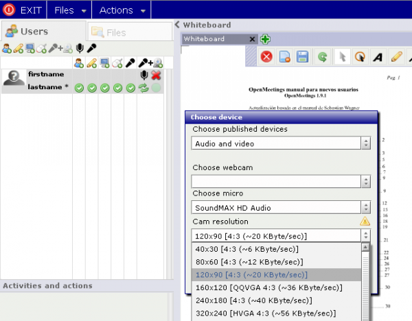Доступен сервер web-конференций Apache OpenMeetings 3.2.0