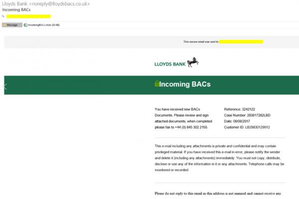 Новый троян перенаправляет пользователей на поддельный банковский сайт