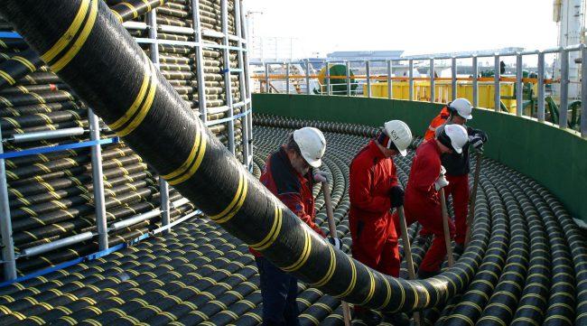 Подводный коммуникационный кабель нового поколения запущен в эксплуатацию