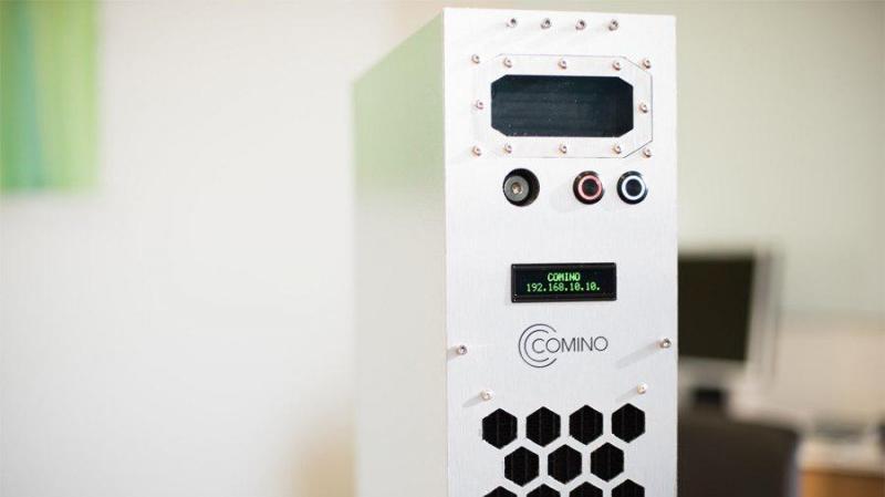 Стартап Comino представил новый обогреватель с функцией майнинга