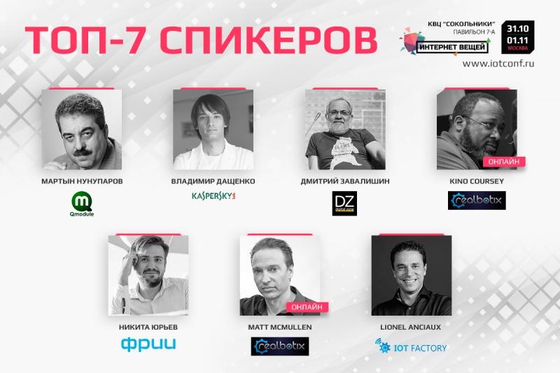 Деловая программа IV международной конференции «Интернет вещей»