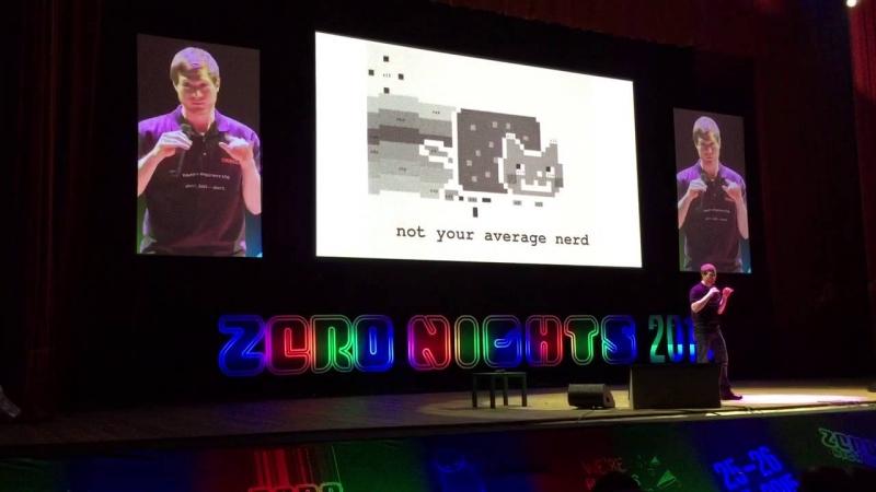 На ZeroNights 2017 – два keynote спикера!