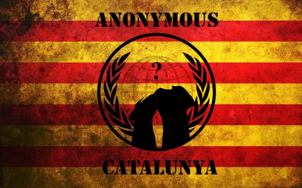 Активисты Anonymous взломали сайт Мадрида из-за референдума в Каталонии