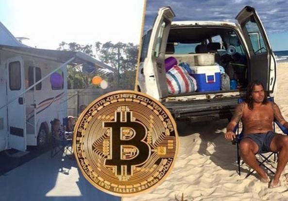 Голландец продал все, ради инвестиций в биткоины, ожидая криптобума. Теперь его семья живет в кемпинге
