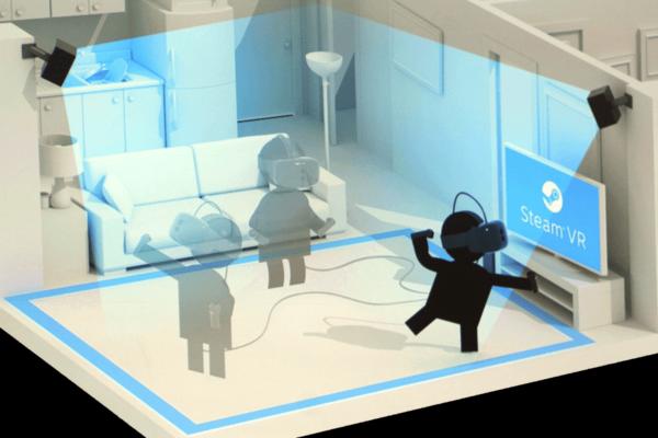 Steam будет поддерживать VR в очень больших комнатах