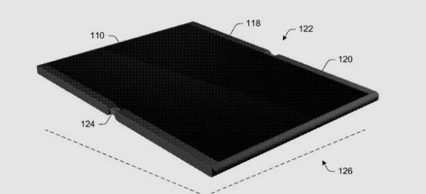 Складывающийся пополам до размера смартфона планшет Microsoft может быть выпущен в следующем, 2018 году