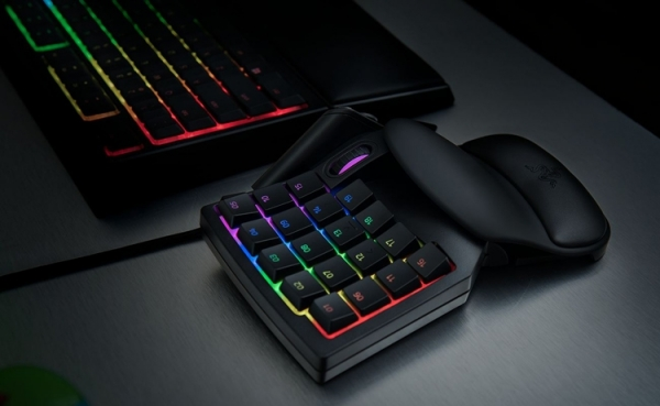 Razer Tartarus V2: игровой кейпад с 32 программируемыми клавишами