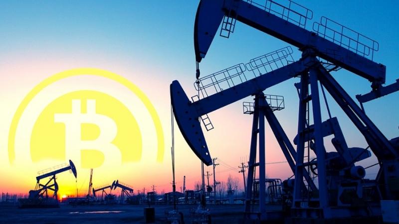 Сколько баррелей нефти нужно для добычи одного биткоина ?