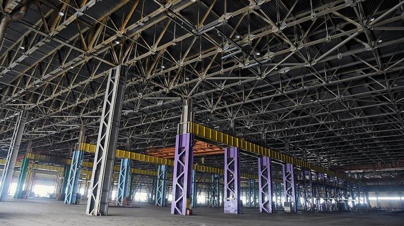 Портал Hi-Tech.Mail.ru опубликовал фото большой биткоин-фермы на территории завода «Москвич»
