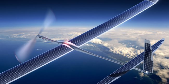 Facebook и Airbus строят беспилотники для раздачи интернета