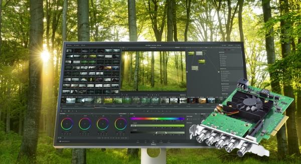 Анонсирован выпуск карты для работы с видео Blackmagic DeckLink 8K Pro