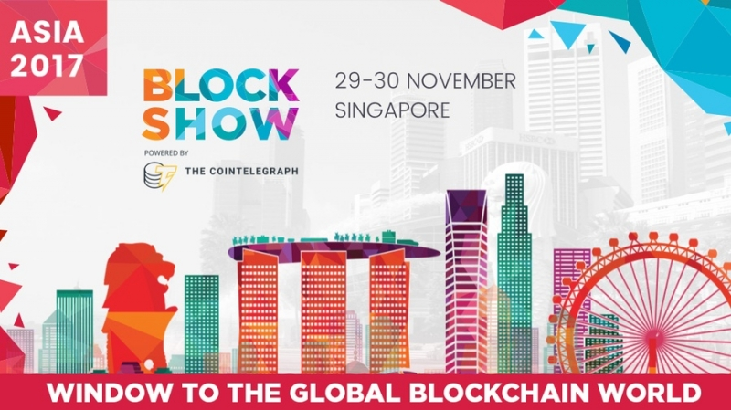 BlockShow Asia от Cointelegraph: 29-30 ноября в Сингапуре