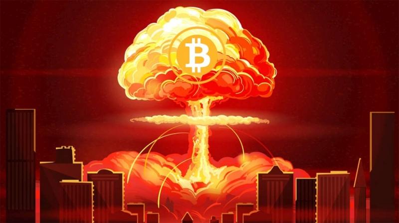 Биткоин как ядерная бомба в валютной войне между Китаем и США