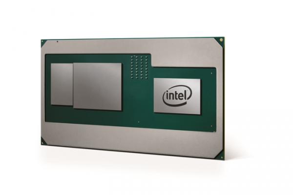 Intel представила мобильные процессоры Core H с графическим ядром AMD и памятью HBM2