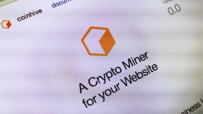 Криптовалютный майнер CoinHive — 6-е по распространённости вредоносное ПО