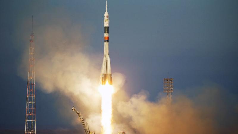 Новый экипаж МКС стартовал с Байконура на ракете «Союз-ФГ»