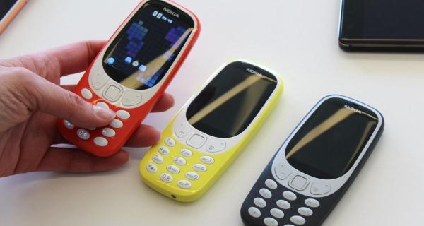 Nokia 3310. Новая версия телефона с поддержкой 4G на подходе