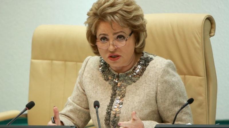 Валентина Матвиенко: криптовалюта – это чёрт из табакерки