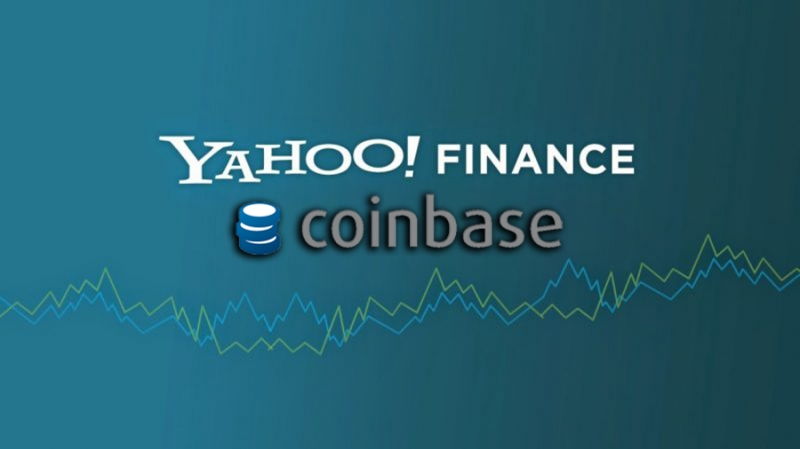 Coinbase объявила об интеграции с Yahoo Finance