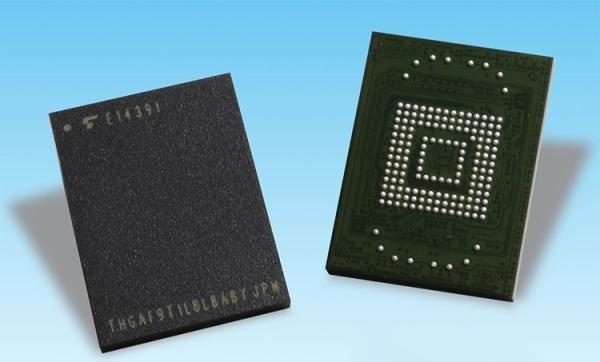 Toshiba представила модули флеш-памяти UFS 2.1 для автомобильных систем