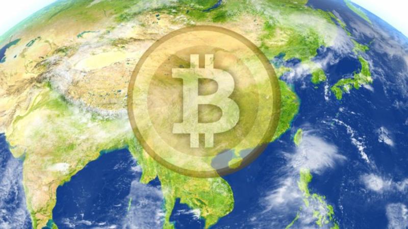 Биткоин поднялся на текущие уровни благодаря популярности в странах Азии