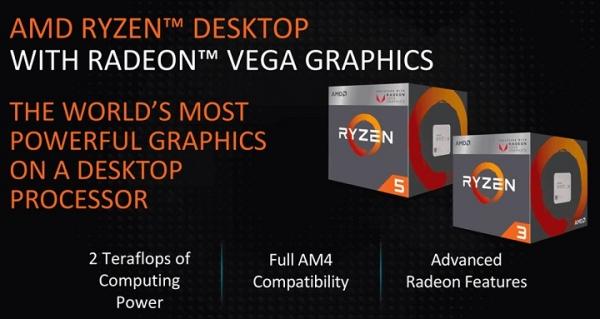 Гибридные процессоры AMD Raven Ridge получат поддержку памяти DDR4-2933