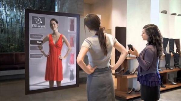 Amazon запатентовала зеркало дополненной реальности